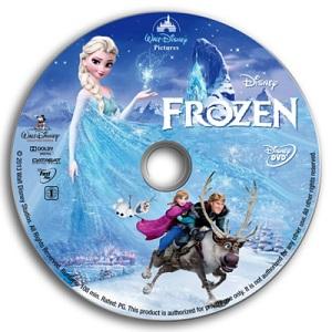 DVD PELÍCULA FROZEN